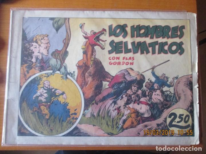 FLAS GORDON -GRANDES AVENTURAS DE 2,50 PTS -HISPANO AMERCANA -LOS HOBRES SELVATICOS (Tebeos y Comics - Hispano Americana - Flash Gordon)