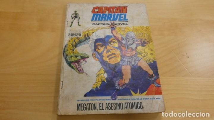 CAPITAN MARVEL . MEGATON , EL ASESINO ATOMICO . Nº 9 EDICIONES INTERNACIONALES (Tebeos y Comics - Hispano Americana - Capitán Marvel)