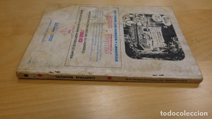 Tebeos: CAPITAN MARVEL . MEGATON , EL ASESINO ATOMICO . Nº 9 EDICIONES INTERNACIONALES - Foto 2 - 156025334