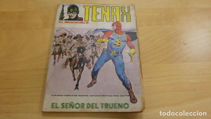 TENAX . EL INVENCIBLE . EL SEÑOR DEL TRUENO . Nº 4 . EDICIONES INTERNACIONALES (Tebeos y Comics - Hispano Americana - Capitán Marvel)