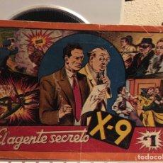 Tebeos: EL AGENTE SECRETO X-9-NUMERO 1 ORIGINAL-MUY DIFICIL. Lote 157078572
