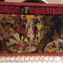 Tebeos: JORGE Y FERNANDO-ALBUM ROJO 7-ORIGINAL-DIFICIL. Lote 157099586