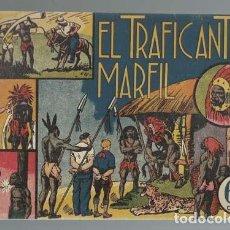 Tebeos: JORGE Y FERNANDO 4: EL TRAFICANTE EN MARFIL, 1940, PROCEDENTE DE ENCUADERNACIÓN, BUEN ESTADO. Lote 157330922