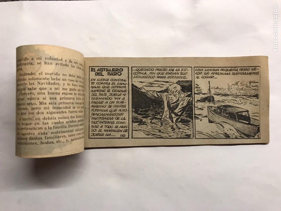 Tebeos: TEBEOS. El astillero del faro. Colección Jorge y Fernando No.110. Edita: Hispano Americana (h.1940?) - Foto 3 - 157380432