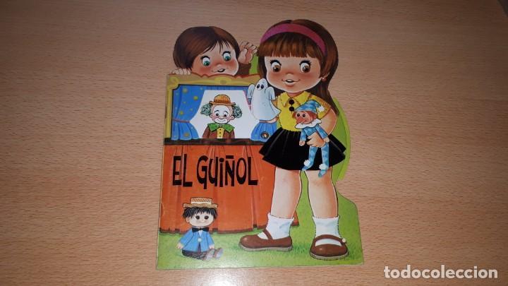 Tebeos: Cuento troquelado EL GUIÑOL. RUEDA CON CAMBIO DE ESCENARIOS. - Foto 4 - 157858694