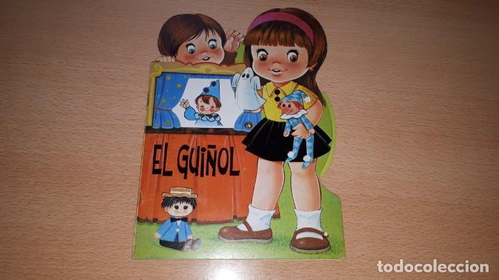 Tebeos: Cuento troquelado EL GUIÑOL. RUEDA CON CAMBIO DE ESCENARIOS. - Foto 5 - 157858694