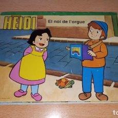 Tebeos: CONTES PANORÁMICS EL NOI DE L´ORGUE.. Lote 157858914