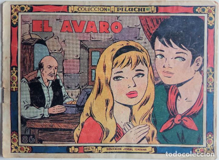 COLECCIÓN PILUCHI Nº 86 - EL AVARO (Tebeos y Comics - Hispano Americana - Otros)