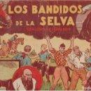Tebeos: LOS BANDIDOS DE LA SELVA (NÚM. 10). 1940. Lote 158475614