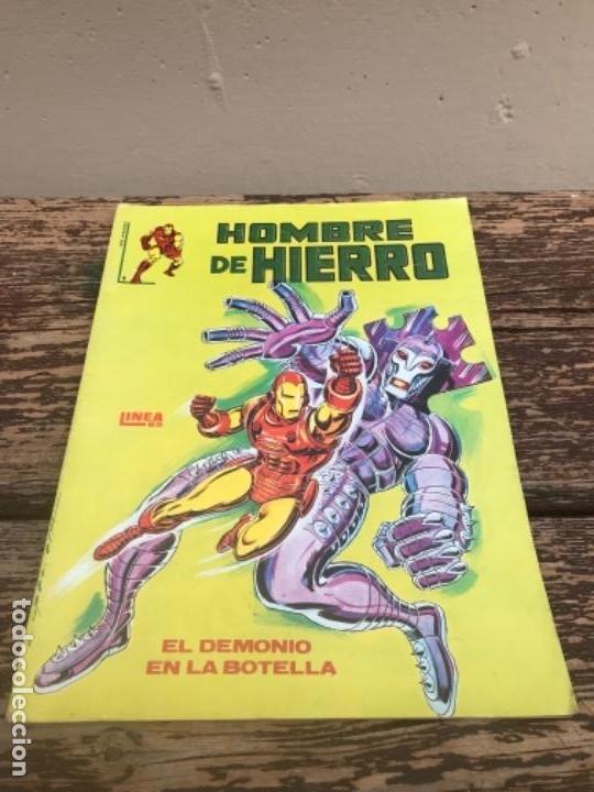 HOMBRE DE HIERRO, MARVEL, 1979-1982-1983 (Tebeos y Comics - Hispano Americana - Capitán Marvel)
