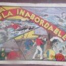 Tebeos: LA ISLA INABORDABLE , HISPANO AMERICANA , AÑOS 40. Lote 160483730