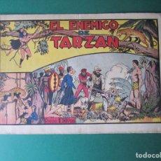Tebeos: TARZAN (1942, HISPANO AMERICANA) 14 · 1942 · EL ENEMIGO DE TARZAN. Lote 160962482