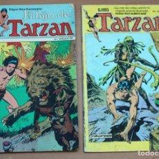 Tebeos: LOTE DE 2 CÓMICS DE TARZAN.. Lote 161094354