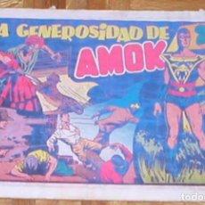 Tebeos: AMOK Nº 7 LA GENEROSIDAD DE AMOK ORIGINAL 1947 EDITORIAL HISPANO AMERICANA MUY RARO OFERTA MIRA !!. Lote 161392754