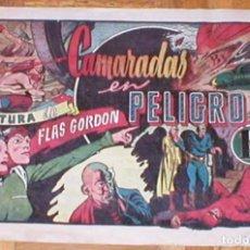 Tebeos: FLASH FLAS GORDON Nº 3 CAMARADAS EN PELIGRO ORIGINAL 1946 EDITORIAL HISPANO AMERICANA RARO MIRA !!!!. Lote 161395194