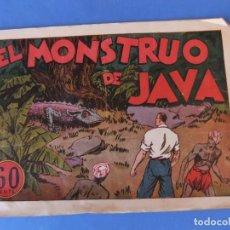 Tebeos: JUAN CENTELLA EL MONSTRUO DE JAVA HISPANO AMERICANA. Lote 161542234
