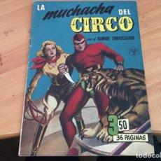 Tebeos: EL HOMBRE ENMASCARADO EXTRA Nº 7 LA MUCHACHA DEL CIRCO (ORIGINAL HISPANO AMERICANA) (COIM27). Lote 161597130