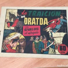 Tebeos: CARLOS EL INTREPIDO Nº 34 LA TRAICION DE DRATDA (ORIGINAL HISPANO AMERICANA) (COIM27). Lote 161876006