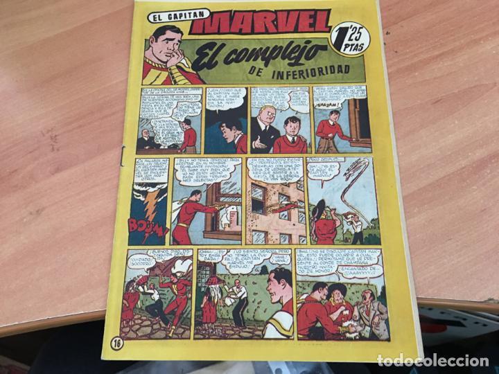 EL CAPITAN MARVEL Nº 16 EL COMPLEJO DE INFERIORIDAD (ORIGINAL HISPANO AMERICANA ) 1,25 PTAS (COIM27) (Tebeos y Comics - Hispano Americana - Capitán Marvel)