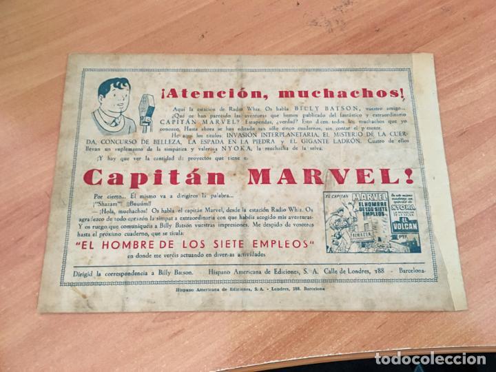 Tebeos: EL CAPITAN MARVEL Nº 6 Y LA EXTRAÑA TIA MINERVA (ORIGINAL HISPANO AMERICANA ) 1,5 PTAS (COIM27) - Foto 2 - 161900954