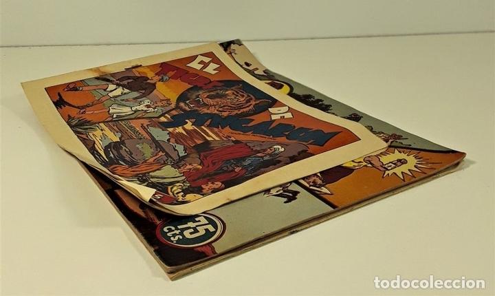 Tebeos: EDICIONES HISPANO AMERICANA. 3 EJEMPLARES. BARCELONA. AÑOS 40. - Foto 2 - 162131302