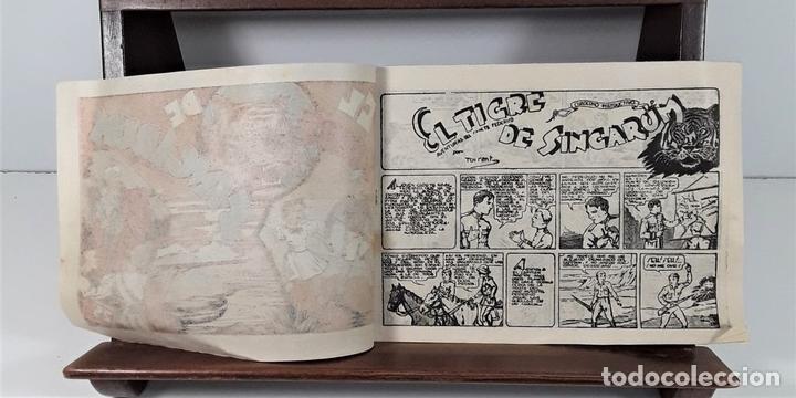 Tebeos: EDICIONES HISPANO AMERICANA. 3 EJEMPLARES. BARCELONA. AÑOS 40. - Foto 6 - 162131302