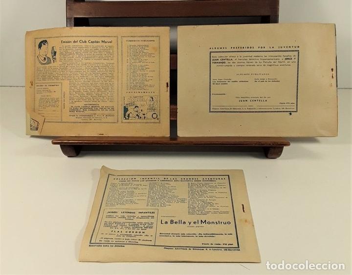 Tebeos: EDICIONES HISPANO AMERICANA. 3 EJEMPLARES. BARCELONA. AÑOS 40. - Foto 8 - 162131302