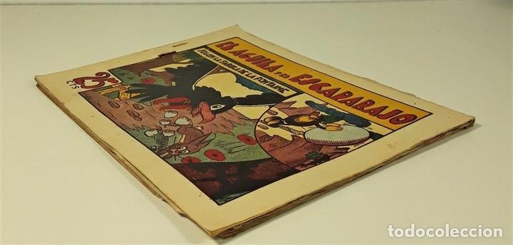Tebeos: EDICIONES HISPANO AMERICANA. 3 EJEMPLARES. BARCELONA. AÑOS 40. - Foto 3 - 162150346