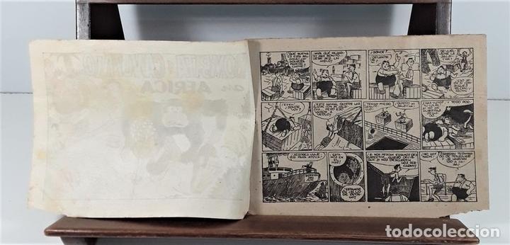 Tebeos: EDICIONES HISPANO AMERICANA. 3 EJEMPLARES. BARCELONA. AÑOS 40. - Foto 4 - 162150346
