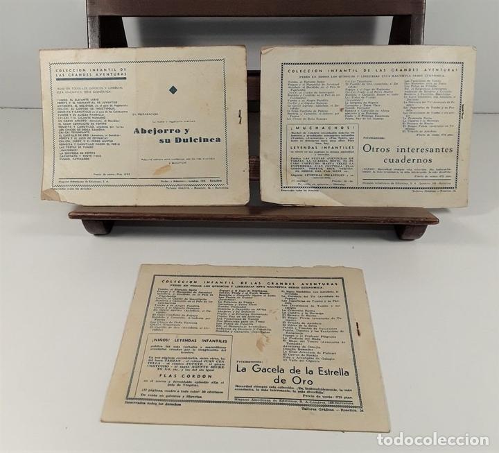 Tebeos: EDICIONES HISPANO AMERICANA. 3 EJEMPLARES. BARCELONA. AÑOS 40. - Foto 7 - 162150346