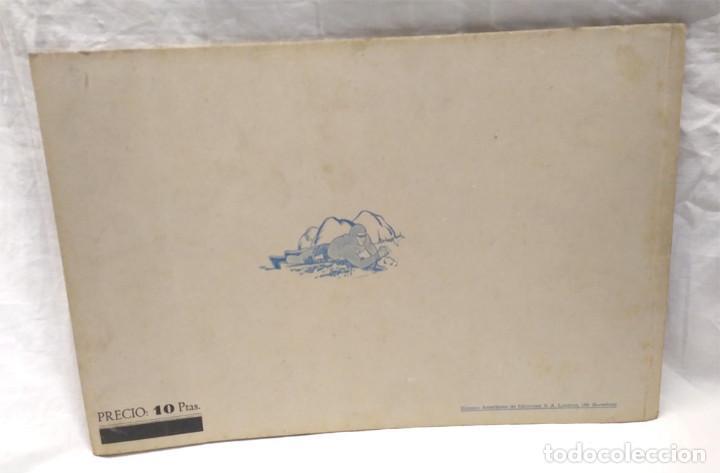 Tebeos: El Hombre Enmascarado nº 8 y último de Album Rojo Hispano Americana año 1943, buen estado - Foto 2 - 162661986