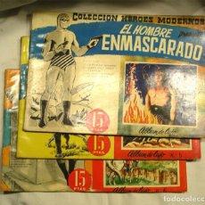 Tebeos: 3 ALBUMES DE LUJO Nº 1 , 5 Y 6 EL HOMBRE ENMASCARADO. Lote 162662098