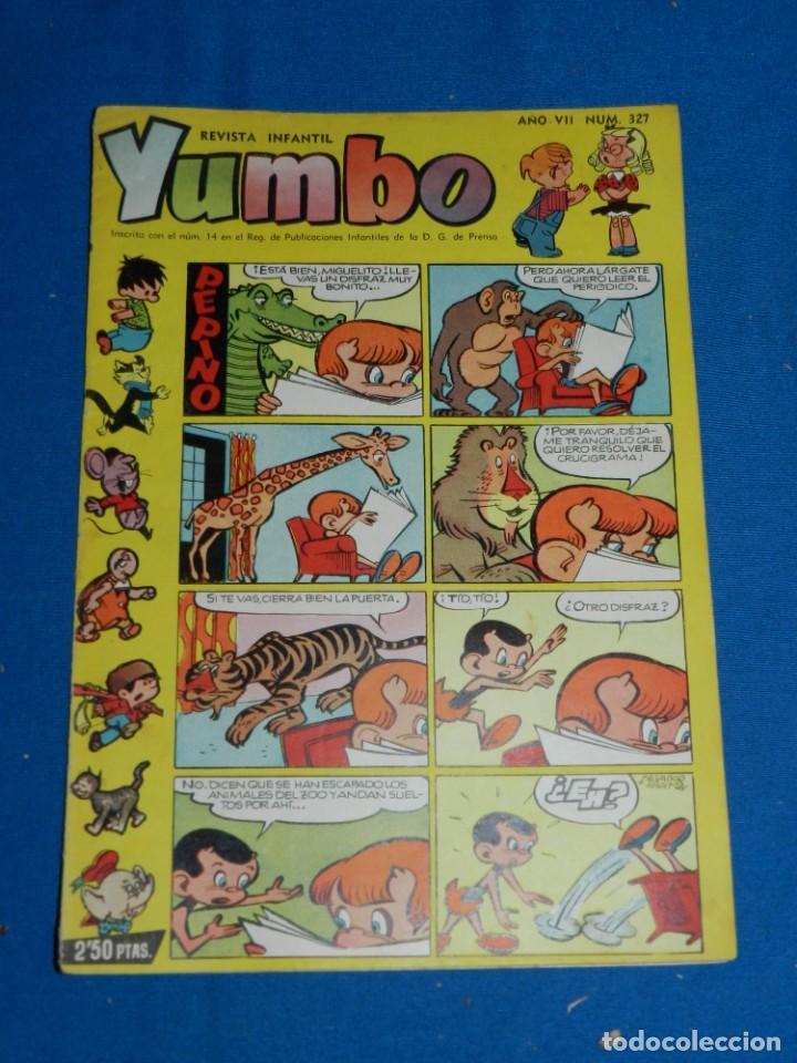 (M3) YUMBO AÑO VII NUM 327 , EDT HISPANO AMERICANA , SEÑALES DE USO (Tebeos y Comics - Hispano Americana - Yumbo)