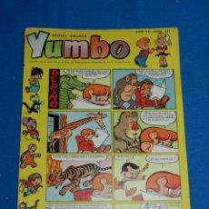 Tebeos: (M3) YUMBO AÑO VII NUM 327 , EDT HISPANO AMERICANA , SEÑALES DE USO. Lote 162696858