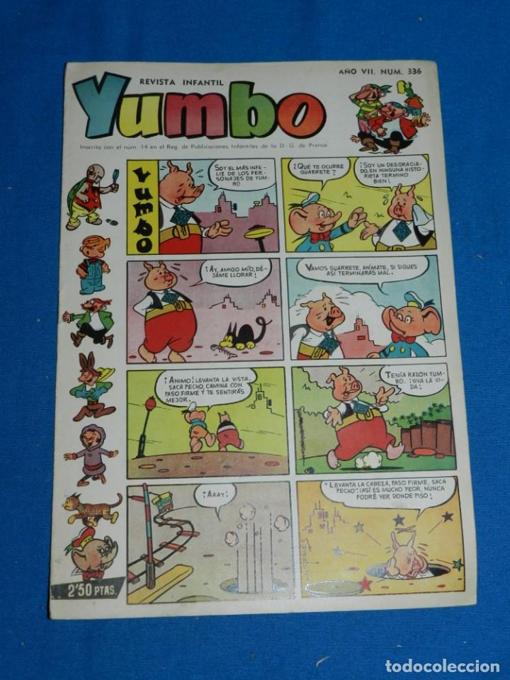 (M3) YUMBO AÑO VII NUM 336 , EDT HISPANO AMERICANA , SEÑALES DE USO (Tebeos y Comics - Hispano Americana - Yumbo)