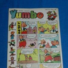 Tebeos: (M3) YUMBO AÑO VII NUM 336 , EDT HISPANO AMERICANA , SEÑALES DE USO. Lote 162696886