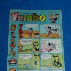 Tebeos: (M3) YUMBO AÑO VII NUM 306 , EDT HISPANO AMERICANA , SEÑALES DE USO CON ROTURITAS. Lote 162697046