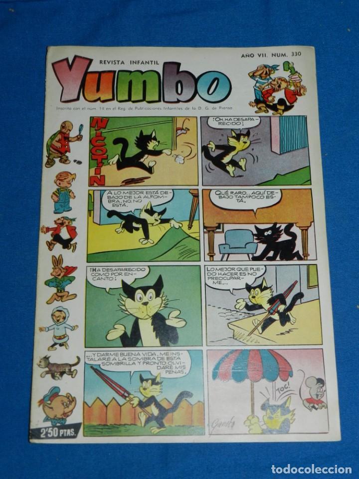 (M3) YUMBO AÑO VII NUM 330 , EDT HISPANO AMERICANA , SEÑALES DE USO (Tebeos y Comics - Hispano Americana - Yumbo)
