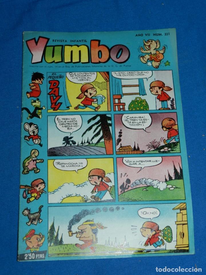 (M3) YUMBO AÑO VII NUM 331 , EDT HISPANO AMERICANA , SEÑALES DE USO (Tebeos y Comics - Hispano Americana - Yumbo)