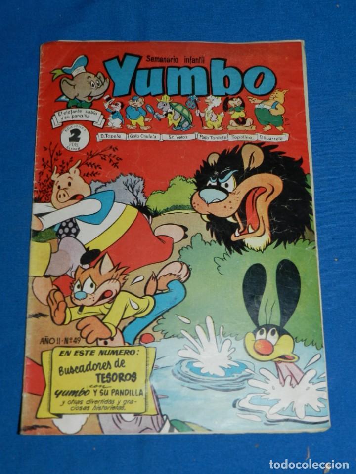 (M3) YUMBO AÑO II NUM 49 , EDT HISPANO AMERICANA , SEÑALES DE USO (Tebeos y Comics - Hispano Americana - Yumbo)