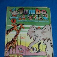 Tebeos: (M3) YUMBO AÑO III NUM 143 , EDT HISPANO AMERICANA , SEÑALES DE USO. Lote 162697318