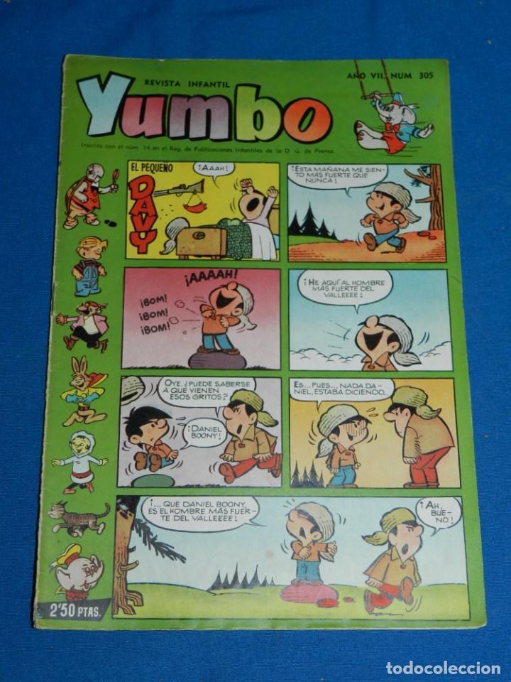 (M3) YUMBO AÑO VII NUM 305 , EDT HISPANO AMERICANA , SEÑALES DE USO (Tebeos y Comics - Hispano Americana - Yumbo)