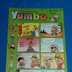 Tebeos: (M3) YUMBO AÑO VII NUM 305 , EDT HISPANO AMERICANA , SEÑALES DE USO. Lote 162697346