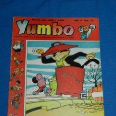 Tebeos: (M3) YUMBO AÑO VII NUM 303 , EDT HISPANO AMERICANA , SEÑALES DE USO. Lote 162697382