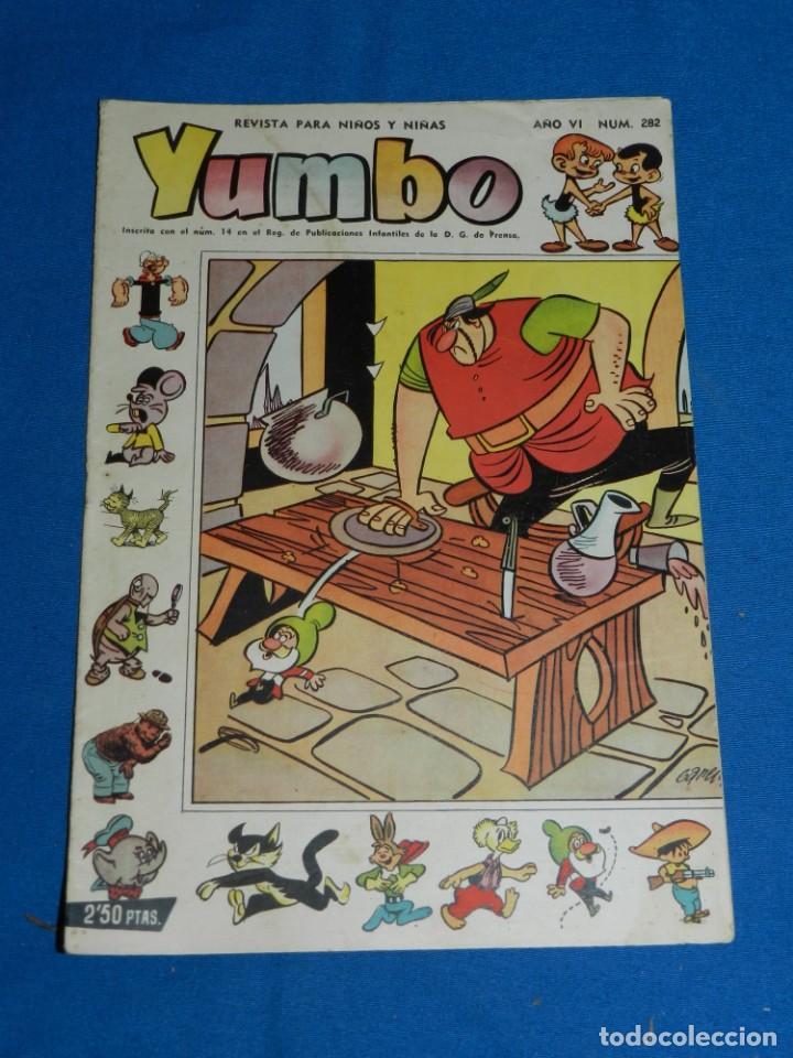 (M3) YUMBO AÑO VI NUM 282 , EDT HISPANO AMERICANA , SEÑALES DE USO (Tebeos y Comics - Hispano Americana - Yumbo)