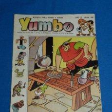 Tebeos: (M3) YUMBO AÑO VI NUM 282 , EDT HISPANO AMERICANA , SEÑALES DE USO. Lote 162697422
