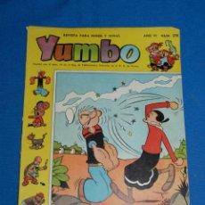 Tebeos: (M3) YUMBO AÑO VI NUM 278 , EDT HISPANO AMERICANA , SEÑALES DE USO. Lote 162697474