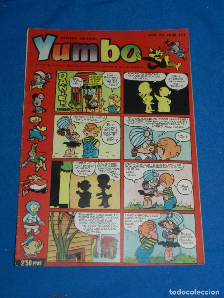 (M3) YUMBO AÑO VII NUM 328 , EDT HISPANO AMERICANA , SEÑALES DE USO (Tebeos y Comics - Hispano Americana - Yumbo)