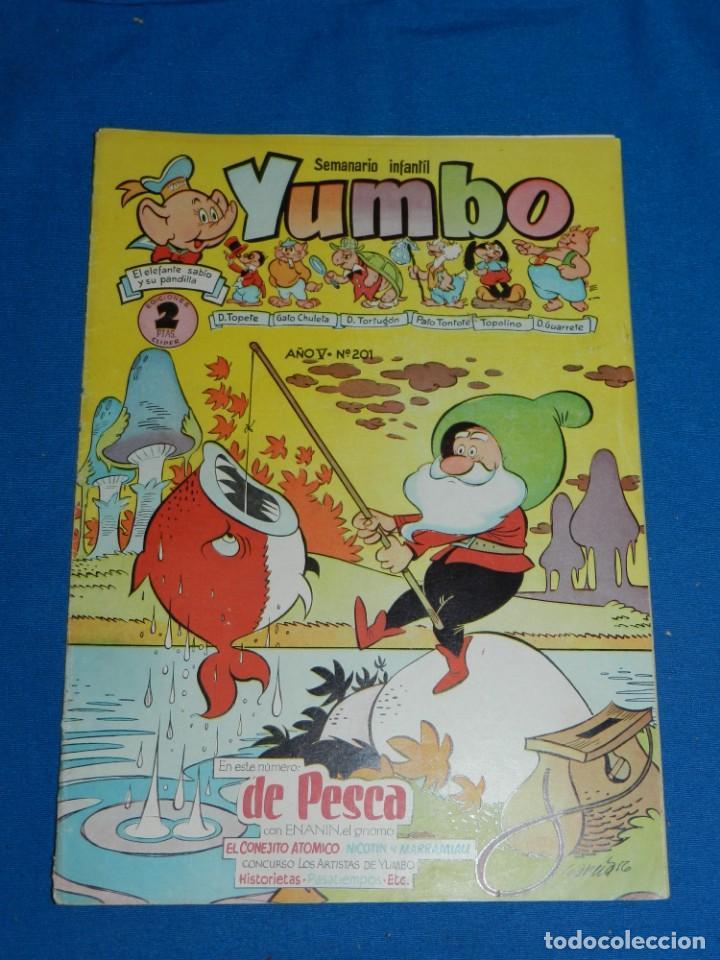 (M3) YUMBO AÑO V NUM 201 , EDT HISPANO AMERICANA , SEÑALES DE USO (Tebeos y Comics - Hispano Americana - Yumbo)