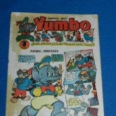 Tebeos: (M3) YUMBO AÑO I NUM 11 , EDT HISPANO AMERICANA , SEÑALES DE USO CON MANCHAS. Lote 162697922